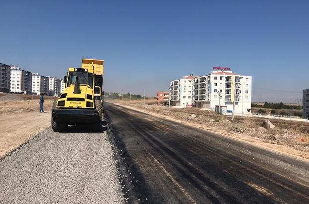 Büyükşehir Belediyesi'nin yol yapım çalışmaları devam ediyor