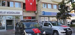 """""""Barış Pınarı Harekâtı""""na mehterli destek"""