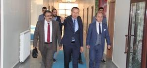 Ağrı Cumhuriyet Başsavcısı Turgut'tan Tekin'e iade-i ziyaret