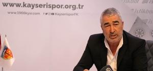 """Kayserispor'da Samet Aybaba dönemi Samet Aybaba: """"Herkesin desteğine ihtiyacımız var"""""""