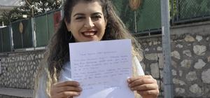 Genç kadın, Barış Pınarı Harekatına katılmak için dilekçe verdi