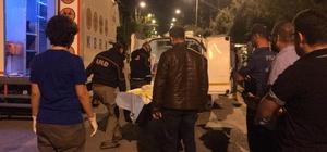 (Özel) Denizli'de intihar eden üniversiteli gencin siyanür içtiği iddiası Gencin cesedini KBRN ekipleri özel ceset torbası ile çıkardı KBRN ekipleri bölgede 2 saat süren siyanür ölçümleri yaptı