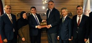 Ağrı heyeti Kültür ve Turizm Bakanı Mehmet Nuri Ersoy'u ziyaret etti Milletvekili Çelebi'den 2020 'İshak Paşa Sarayı Kültür Yılı' olsun teklifi