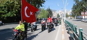 Barış Pınarı Harekatı'na motosiklet tutkunlarından destek