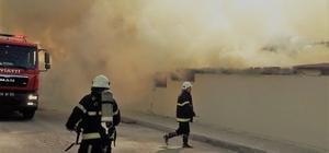 İplik fabrikasında yangın 2 ay önce üretime başlayan fabrikada yaklaşık 500-600 bin lira zararın olduğu tahmin ediliyor
