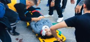 5 metrelik ihmal: 2 genç yaralandı