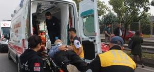 İzmit'te 8 araç birbirine girdi: 6 yaralı Etrafın savaş alanına döndüğü kazadan yara almadan kurtulanlar panik yaşadı