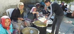 Balıkesir'de bayrak hayrında Barış Pınarı Harekatı için dua yapıldı