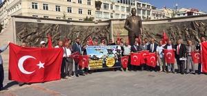 """Kayserili muhtarlardan 'Barış Pınarı Harekatı' na destek Muhtar Mehmet Karakaya: """"Gerekirse muhtarlar olarak biz de cepheye koşarız"""""""