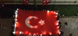 Öğrencilerden Mehmetçik'e destek