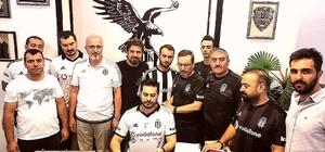 Malatya Beşiktaşlılar Derneği'nden Serdal Adalı'ya destek