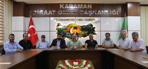 Karaman'da ziraat odalarından Barış Pınarına Harekatına destek