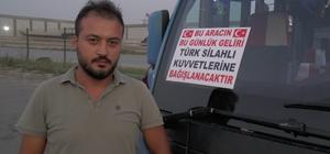 (Özel) Barış Pınarı Harekatı'na minibüs şoföründen kampanyalı destek Gebze - Harem şoförü kazandığı parayı TSK'ya bağışladı