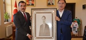 Kamu Başdeneticisi Malkoç'tan Kaymakam Koşal'a Ziyaret