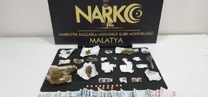 Malatya'da sokak satıcılarına operasyon Uyuşturucu maddelerle ilgili 8 kişi gözaltına alındı