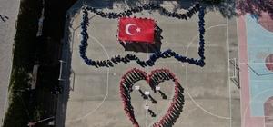 Öğrencilerden, Mehmetçik'e anlamlı mesaj