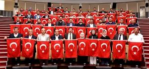 Karatay Belediyesi Meclisinden Barış Pınarı Harekatına tam destek