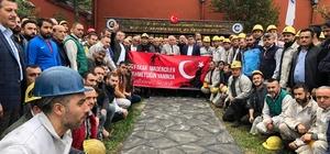 Madene inmeden önce Mehmetçik için dua ettiler
