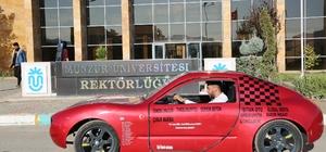 Munzur'un 'Hızır'ı 100 kilometrede 1 lira 2 kuruş  yakıyor Munzur Üniversitesi'nde yapılan  elektrikli araç, 100 kilometrede 1 lira 2 kuruş yakıyor