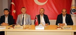 Oda ve Sendika Başkanları 'Barış Pınarı Harekâtı'na destek için toplandı
