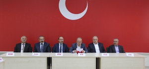 Nevşehir'de iş adamları ve STK'lar Barış Pınarı Harekatı'na destek verdi