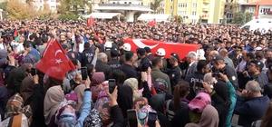 Münbiç şehidi Üsteğmen Bozbıyık'ı binler uğurladı Kırıkkale 'Barış Pınarı Harekatı' şehidini uğurladı