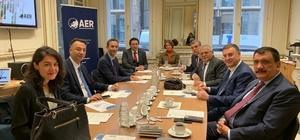 Başkan Büyükkılıç, Avrupa'nın başkentinde Barış Pınarı'nı anlattı