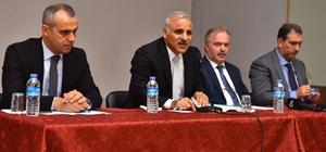 Başkan Zorluoğlu'ndan Sürmene'ye ziyaret Muhtarlarla bir araya geldi, dertlerini dinledi