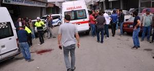 Elbistan'da silahlı saldırı: 1 yaralı