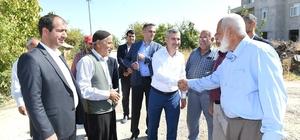 Başkan Mehmet Çınar, yatırımları inceledi