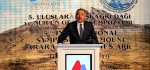 Ağrı'da '5. Uluslararası Ağrı Dağı ve Nuh'un Gemisi Sempozyumu' başladı