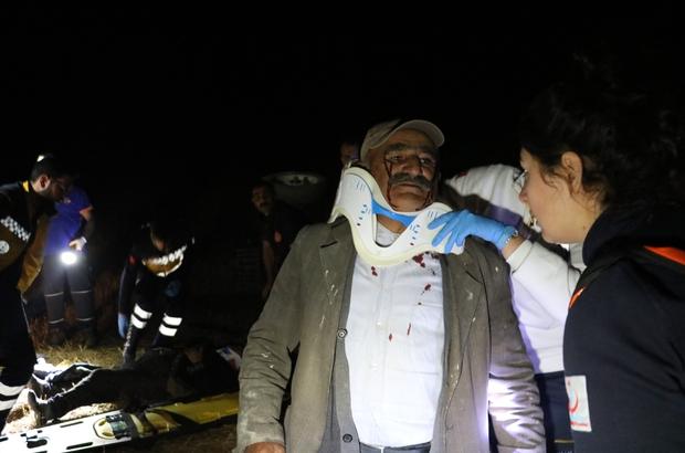 Kazada canını zor kurtardı, aklında ise kaybolan anahtar vardı Sivas'ta traktörün devrilmesi sonucu meydana gelen kazada 2 kişi yaralandı. Sürücü yaralı olarak atlattığı kazanın ardından ise kaybolan traktörün anahtarının derdine düştü