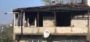 Yangında bir ev küle döndü Evi yanan komşuları için kampanya başlattılar