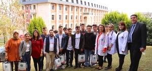 Şalpazarılı öğrencilere Avrasya Üniversitesi'nde seminer verildi