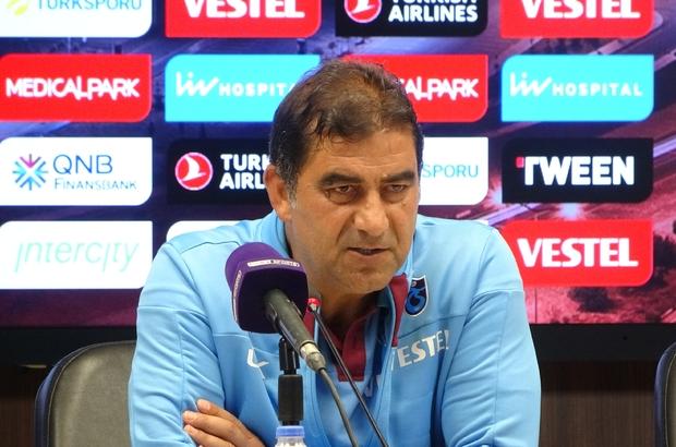 """Ünal Karaman: """"Kritik dönemde oynadığımız bir müsabakaydı"""" Trabzonspor Teknik Direktörü Ünal Karaman: """"Yapılan hamlelerden ve üretilen pozisyonlar sonrası kazanılan müsabakadan memnunum"""" """"Şu an takıma yaptığımız yüklemeyi kaldıracak boyutta değil"""" """"Yarın Sosa'ya 'santrafor oynayacaksın, orada ihtiyacım var' desem eminim ki orada da aynı performansı vermeye gayret eder"""""""
