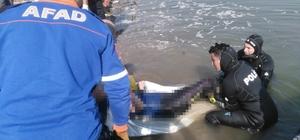 Sakarya Nehri'ne düşerek kaybolan adamın cansız bedenine ulaşıldı