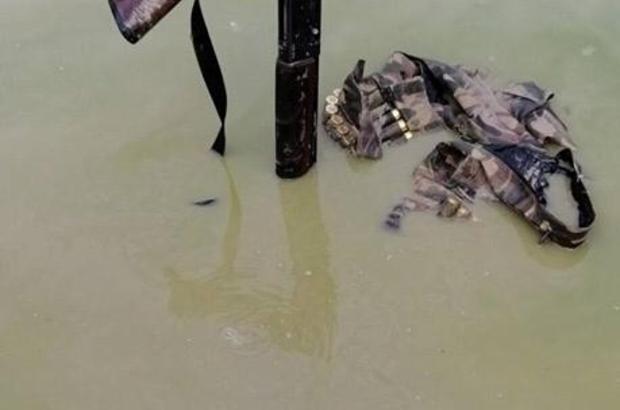 Bilinçsiz avlananlara kızan avcı tüfeğini suya atıp avcılığı bıraktı