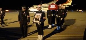 Şehidin cenazesi memleketi Tokat'a getirildi