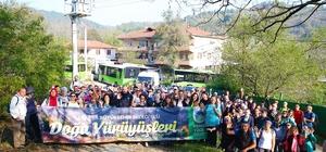 Doğa yürüyüşleri Akçay ile Nuruosmaniye parkuruyla devam etti