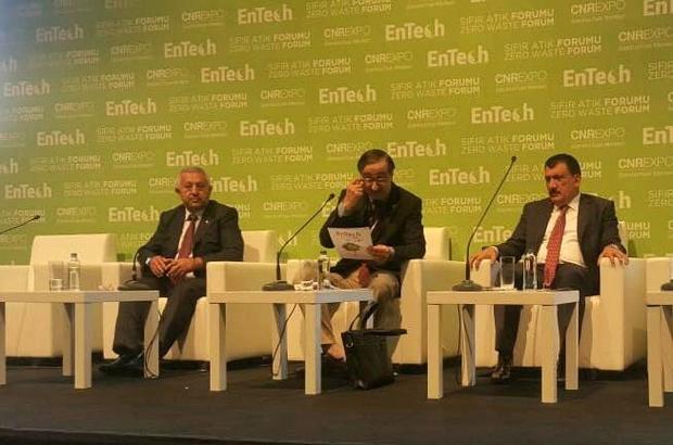 Başkan  Gürkan, Sıfır Atık Yönetimi  panelinde konuştu