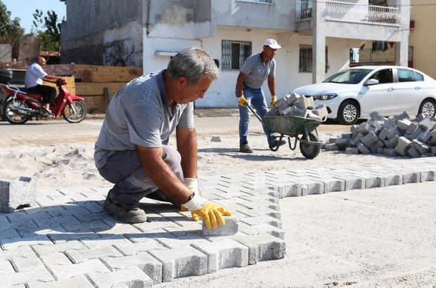 Efeler Belediyesi Merkez Yeniköy'de park çalışmalarına başladı