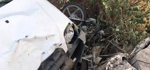 Aksaray'da hafif ticari araçla çarpışan motosiklet sürücüsü öldü