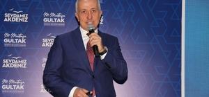 """Gültak: """"Bugüne kadar 9 milyon lira borç ödedik"""" Akdeniz Belediye Başkanı Gültak, göreve geldiği günden bu yana geçen 6 ayda gerçekleştirdiği hizmetleri anlattı"""