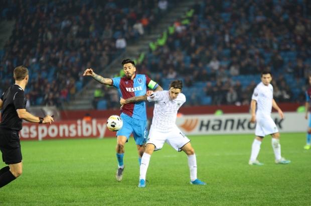 UEFA Avrupa Ligi: Trabzonspor: 0 - FC Krasnodar: 0 (İlk yarı)