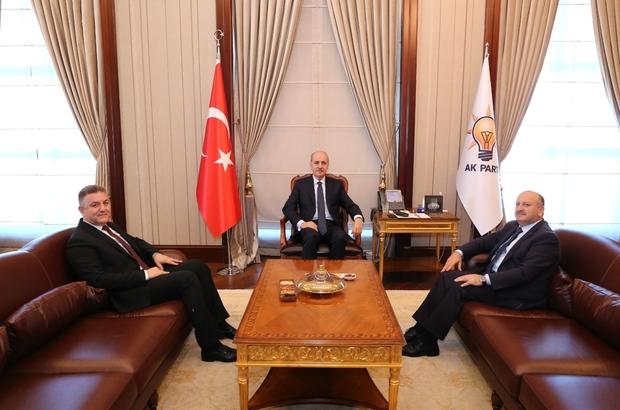 Başkan Ankara'dan mutlu döndü Ünye Belediye Başkanı Hüseyin Tavlı, ilçede yapılan ve yapılması planlanan çalışmaları takip etmek amacıyla gittiği Ankara'da, temaslarını tamamlayarak ilçeye döndü