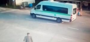Tekirdağ'da durdurduğu minibüs 92 yaşındaki yayaya çarptı