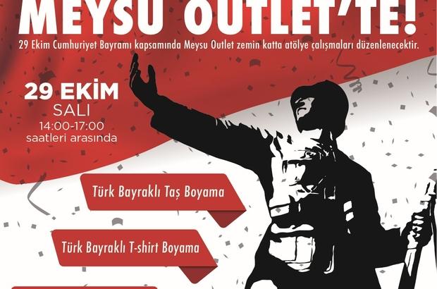 Meysu Outlet Te Cumhuriyet Bayrami Coskusu Kayseri Haberleri
