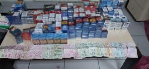 Yozgat'ta, sigara hırsızları tutuklandı