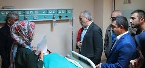 """Rektör Karadağ: """"Öğrencilerimizin sağlık durumlarında korkulacak bir durum yok"""""""