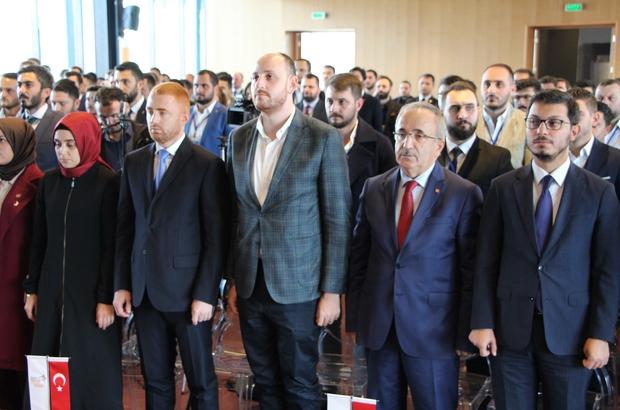 """AK Parti Gençlik Kolları Karadeniz Bölge İstişare Toplantısı Büyükgümüş: """"Bu toprakların değerlerini ve inancını savunanlar galip gelmekte"""""""